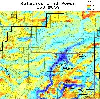 Relative Wind Power