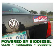 Poweredy By Biodiesel