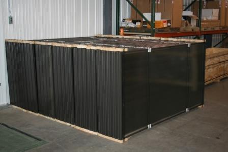 Solar thermal panels ready to ship, SolarSkies, Inc.